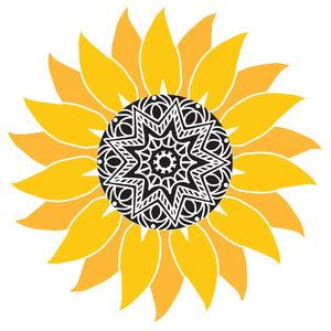 Here is our collection of mandala sunflower designs that you will love! Silhouette Design Store - Browse Designs