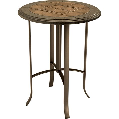 pub height patio table round bar height table sosfund