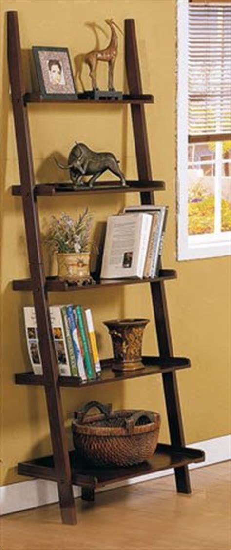 leaning ladder bookshelf  bookcase collection