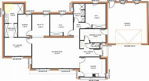 plan maison 200m2 plein pied segu maison With attractive idee maison plain pied 16 maison bioclimatique top maison