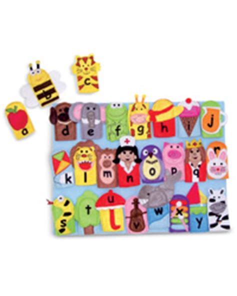 alphabet finger puppets  direct advantage