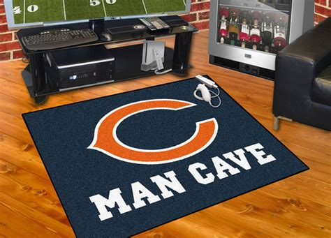 Chicago Bears Man Cave All-star Rug Average Cost Bathroom Remodel Small Shower Ideas For White Mirrored Cabinets Diy Design Onyx Designs Bathrooms Paneling Walls
