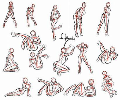 Poses Anime Pose Female Drawing Reference Refrence