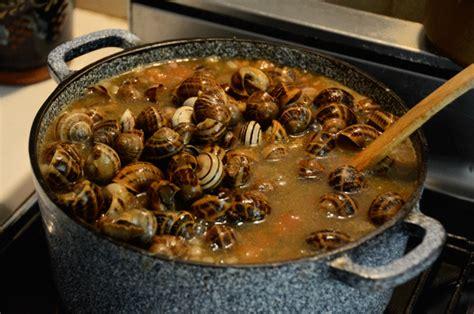 cuisiner pour 50 personnes escargots quot petits gris en suççarello quot à la provençale la