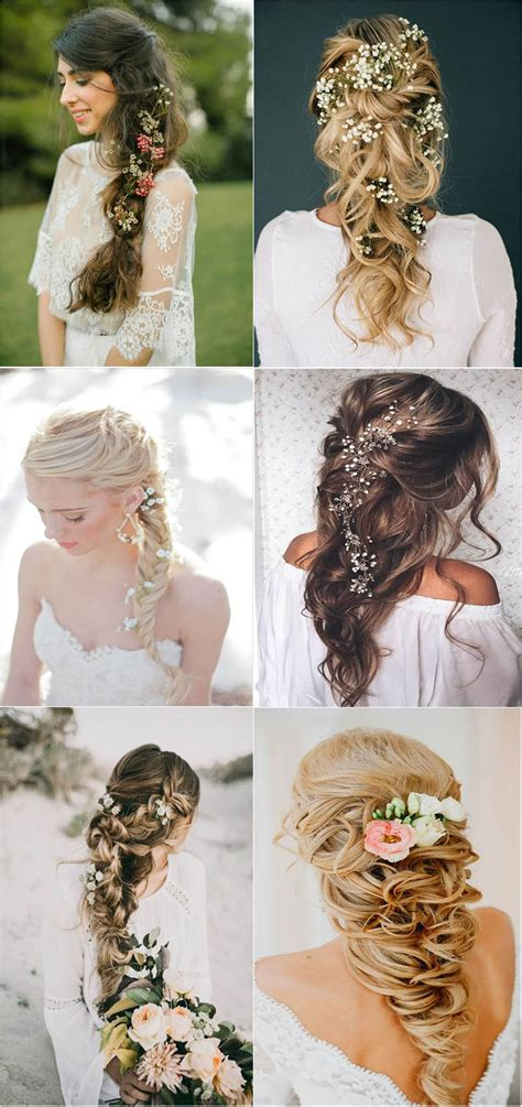 24 Awesome Wedding Hairstyles with Flowers Mrs to Be