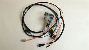 1968 1969 Camaro Nova Engine Starter Wiring Harness Big