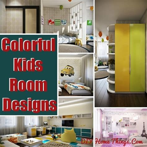 Crisp And Colorful Room Designs by Crisp And Colorful Room Designs Diy Home Things
