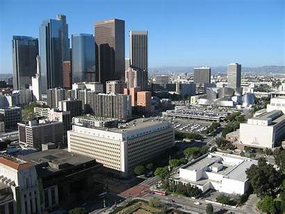 Angeles Los Bunker Hill Wikipedia Downtown