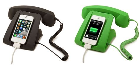 Give your smart phone a retro desk telephone look – The