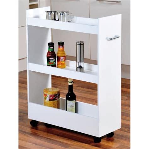 meuble a balai pour cuisine meuble de rangement pour cuisine à roulettes renforts en
