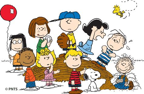 charlie brown gang outdoor 10 facts about charles schulz the creator of the peanuts biography