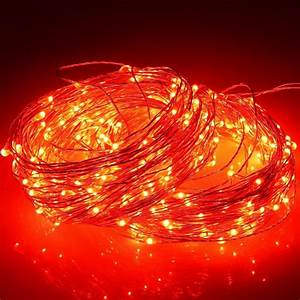 M led outdoor christmas fairy lights warm white