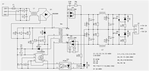 switching power supplycircuit diagram world