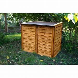 Coffre De Jardin En Bois : coffre de jardin en bois trait autoclave trocadero 1350l ~ Teatrodelosmanantiales.com Idées de Décoration