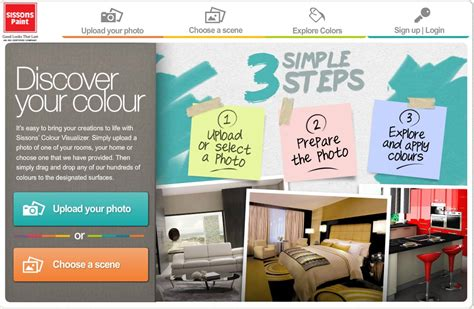 the sissons colour visualizer welcome to the world of
