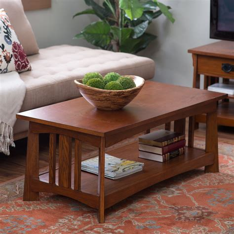 belham living everett mission coffee table coffee tables