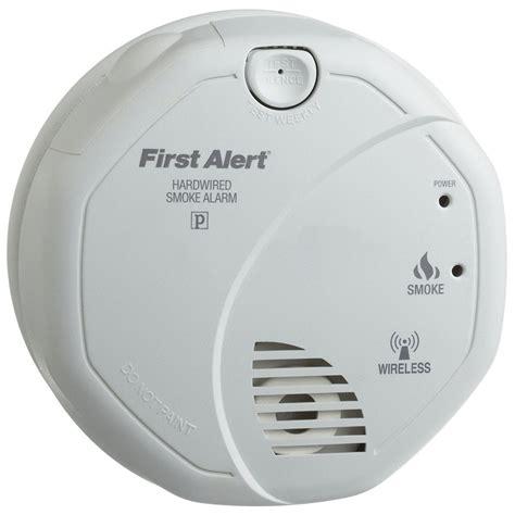 first alert smoke alarm blinking red light smoke detector red light iron blog