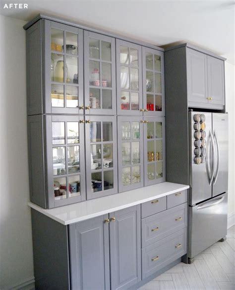 Kitchen Cupboard Ikea by Best 25 Ikea Cabinets Ideas On Ikea Kitchen
