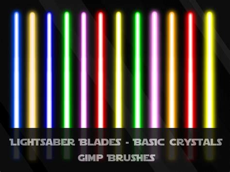how many lightsaber colors are there lightsaber blades basic by jedania on deviantart
