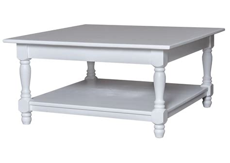 ensemble canape fauteuil acheter votre table basse carrée en pin massif blanche