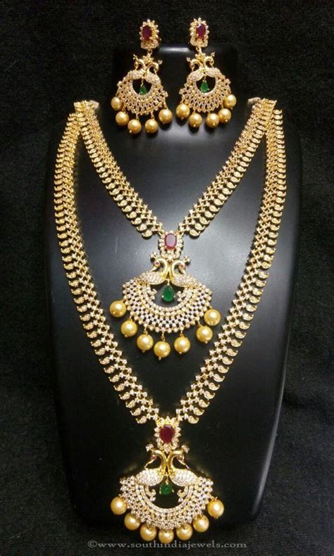 wedding necklace sets  indian brides south india jewels