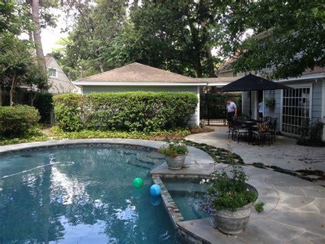 Patio Cover Built Off Garage & Outdoor Kitchen in Memorial