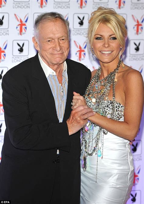Hugh Hefner's wife Crystal breaks silence on his death ...