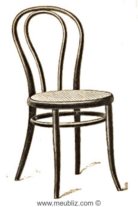 siege thonet chaise n 18 thonet