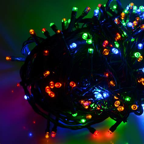 battery operated chasing led lights string with timer