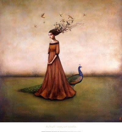 empty nest invocation fine art print  duy huynh
