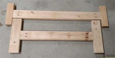 double  bench plans  tool belt