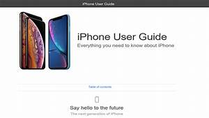 Iphone Xs User Guide Iphone Xs Max Manual