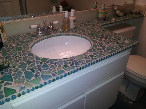 mosaic countertop 17 best ideas about mosaic bathroom on neutral