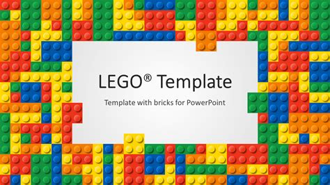 lego template lego powerpoint template