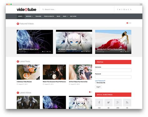 the series and movide site template best video themes for embedded and self hosted