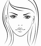 Face Makeup Chart Template Charts Mac Coloring Blank Sketch Printable Croquis Stencils Completo Painting Mapping Sobre Tudo Faces Outline Templates sketch template