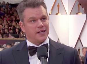 Oscars 2017: Did Matt Damon just get confused for Ben ...