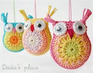 Little Owls Crochet Pattern