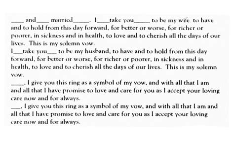 traditional english vow text wedding vows pinterest wedding vows wedding and weddings