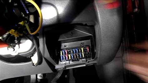 fuses located   ford fiesta youtube