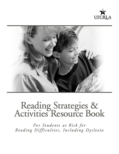Reading Strategies & Activities Resource Book For Students At Risk For Reading Difficulties