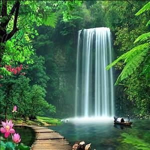 Online Get Cheap Wall Murals Waterfalls -Aliexpress com