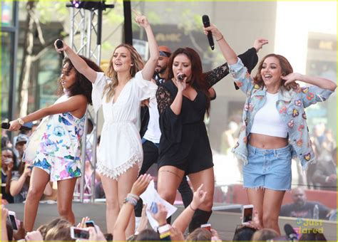 Full Sized Photo of little mix today show perrie cry ...