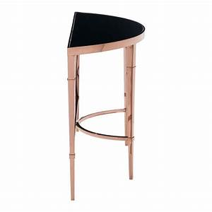 Half Moon Console Table MOSS MANOR A Design House