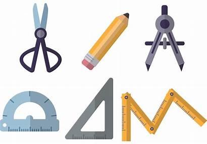 Tools Architecture Vectors Architektur Architect Werkzeuge Clip