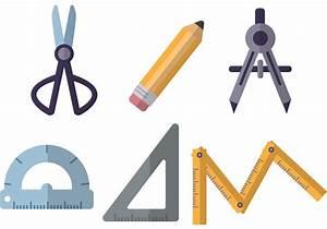 Flat Architecture Tools Vectors - Download Free Vector Art ...