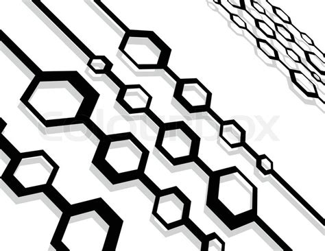Abstract Vector Design Black And White by The Vector Black And White Abstract Stock Vector Colourbox