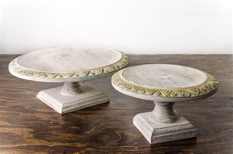 shabby chic cake stands cake stand wood pedestal shabby chic amigo party rentals inc