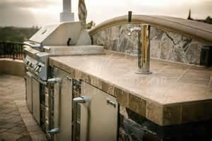 Multi Level Kitchen Island Veneer Bbq Islands Outdoor Kitchens Gallery Western Outdoor Design And Build Serving San