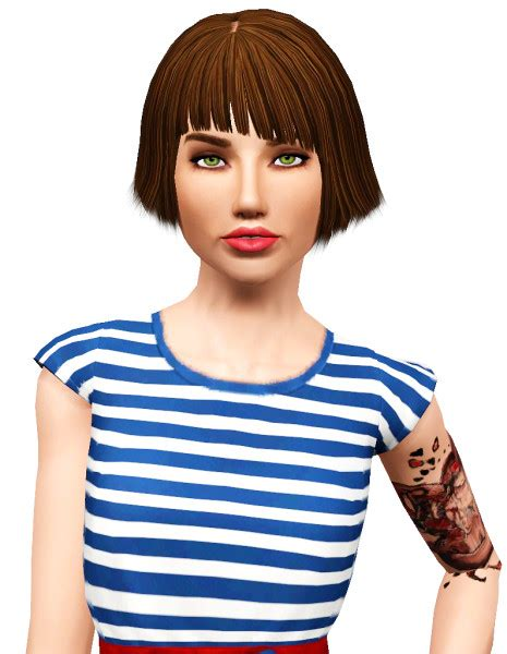 haircuts mens the sims 3 elexis quorra hairstyle retextured by pocket 5604